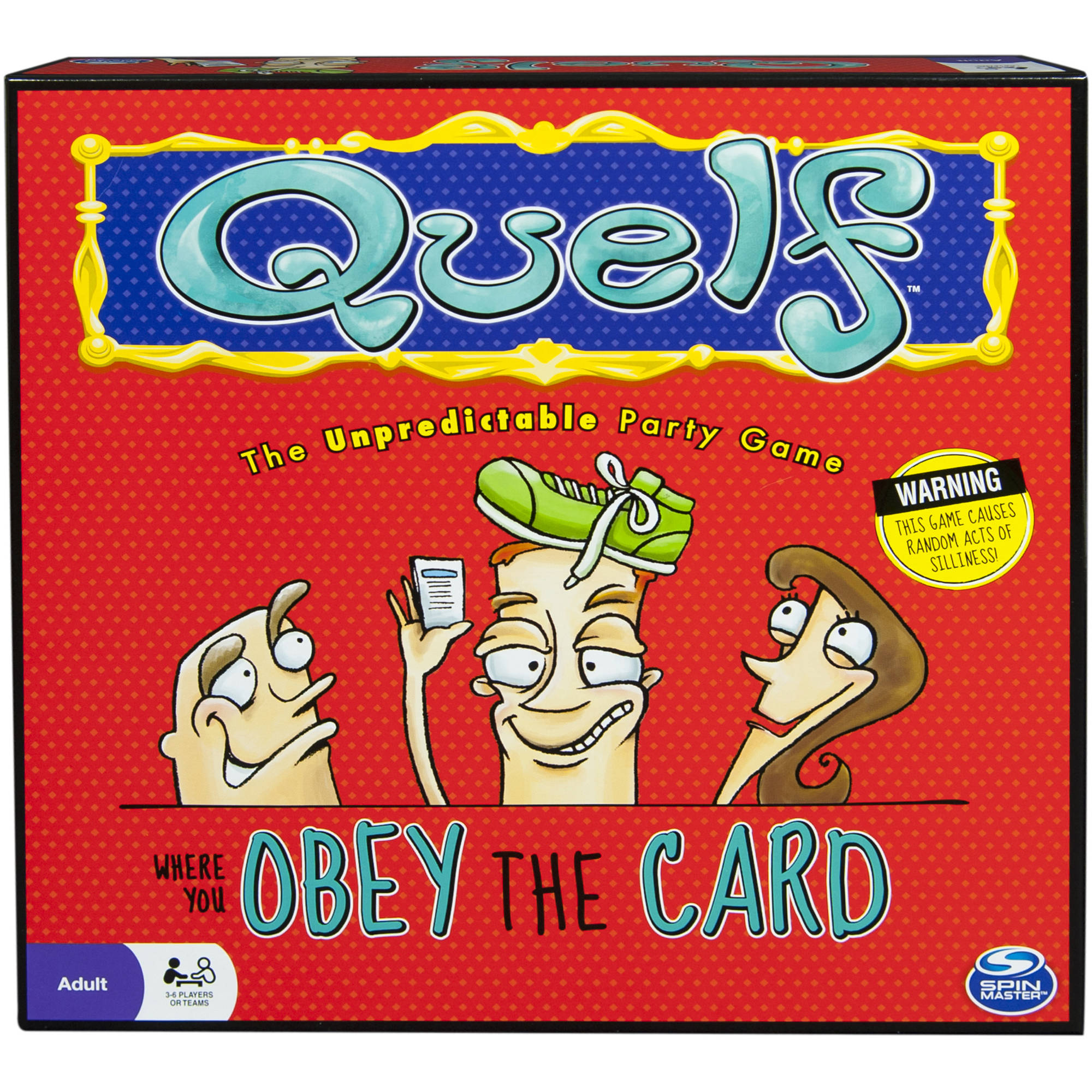 Quelf – Party Game for Teens and Adults