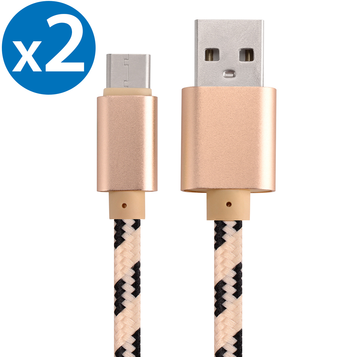 2x 3FT USB Type C Cable Fast Charging Cable USB-C Type-C 3.1 Data Sync Charger Cable Cord For Samsung Galaxy S9 S9+ Galaxy S8 S8 Plus Nexus 5X 6P OnePlus 2 3 LG G5 G6 V20 HTC M10 Google Pixel XL