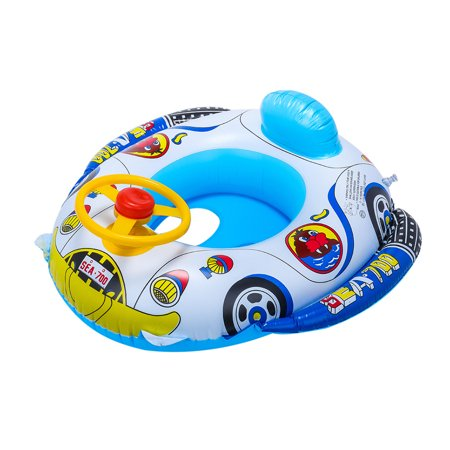 Iuhan Swimming Ring Inflatable Baby Float Small Suitable Age For 1 Months- 3 Years Old(Color random) ()