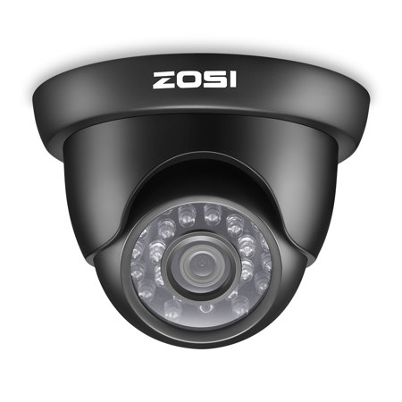 ZOSI HD 720p 4in1 24PCS IR LEDs 3.6mm Lens with IR Cut Weatherproof CCTV Security Camera Day Night 65ft IR - Distance Weatherproof Ir Cctv Camera