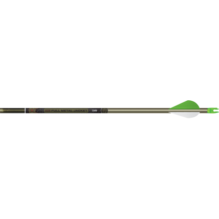 Easton Technical Products Full Metal Jacket 5mm Woodland Camo 340 Arrow w/2