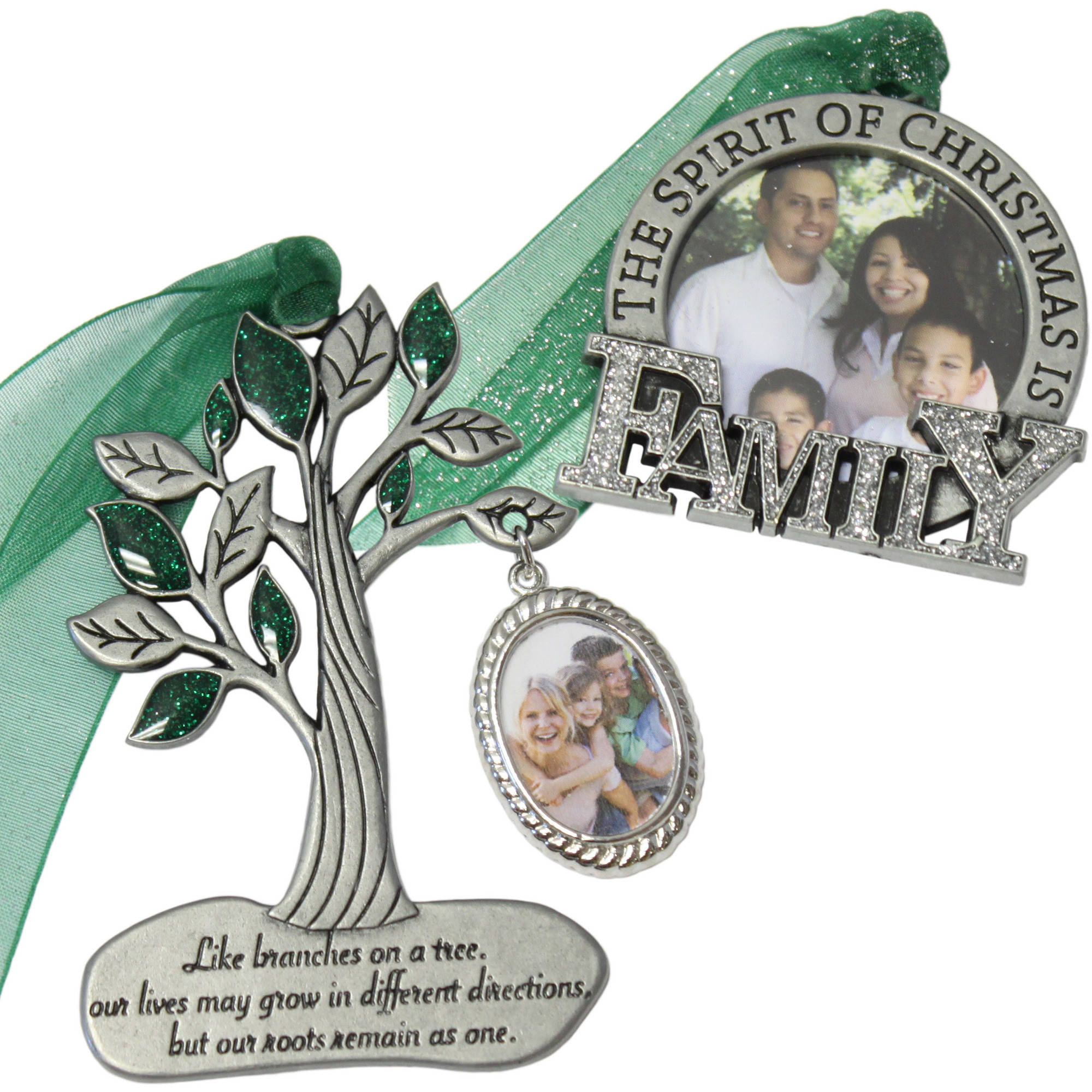 Gloria Duchin 2pc Family Ornament Gift Set