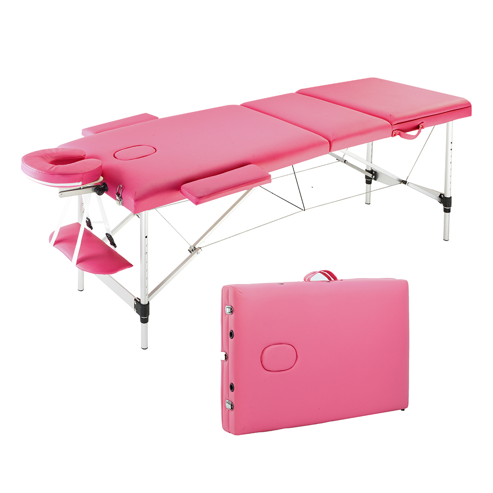 "Ktaxon 84""L Aluminum Massage Table Adjustable SPA Bed for Salon Beauty"