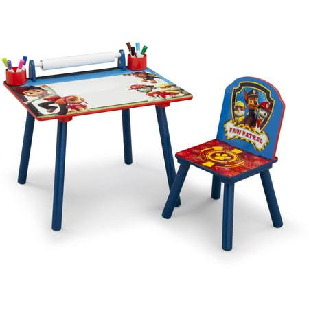 Paw Patrol Toddler Art Desk With Chair Walmart Com