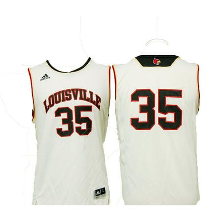 2696deafe Louisville Cardinals Youth Classic Replica Basketball Jersey - White  35 -  Walmart.com
