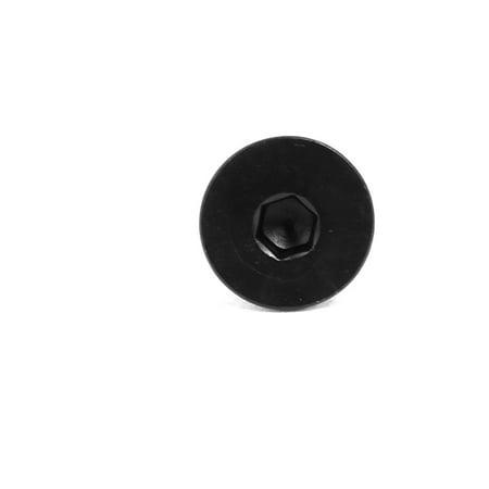 20pc n° 5x1/2 acier plat carbone Classe 10.9 à six pan creux à tête fraisée - image 2 de 3