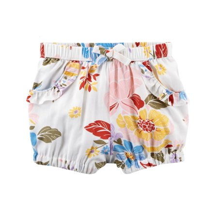 Carter's Baby Girls' Floral Pull-On Bubble