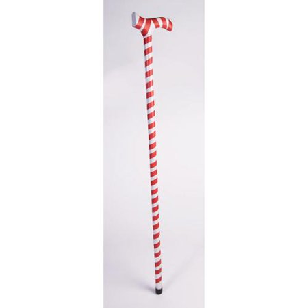 Candy Cane Walking Stick Adult Costume Accessory - Candy Cane Costumes