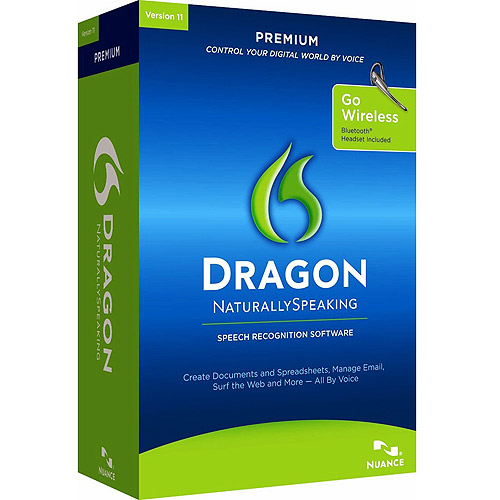 NUANCE Dragon NaturallySpeaking v.11.0 Premium With Bluet...