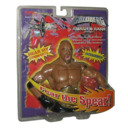 WWE Tiger Electronic Fear The Speak Goldberg Smash & Bash Handheld Toy Game