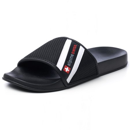 Alpine Swiss Mens Athletic Comfort Slide Sandals EVA Flip Flops Foam Slippers