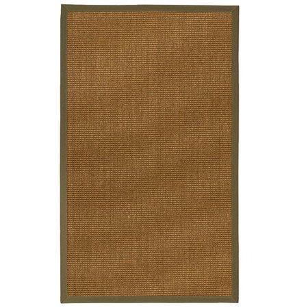Bayou Breeze Kimbolton Hand-Woven Brown Area Rug