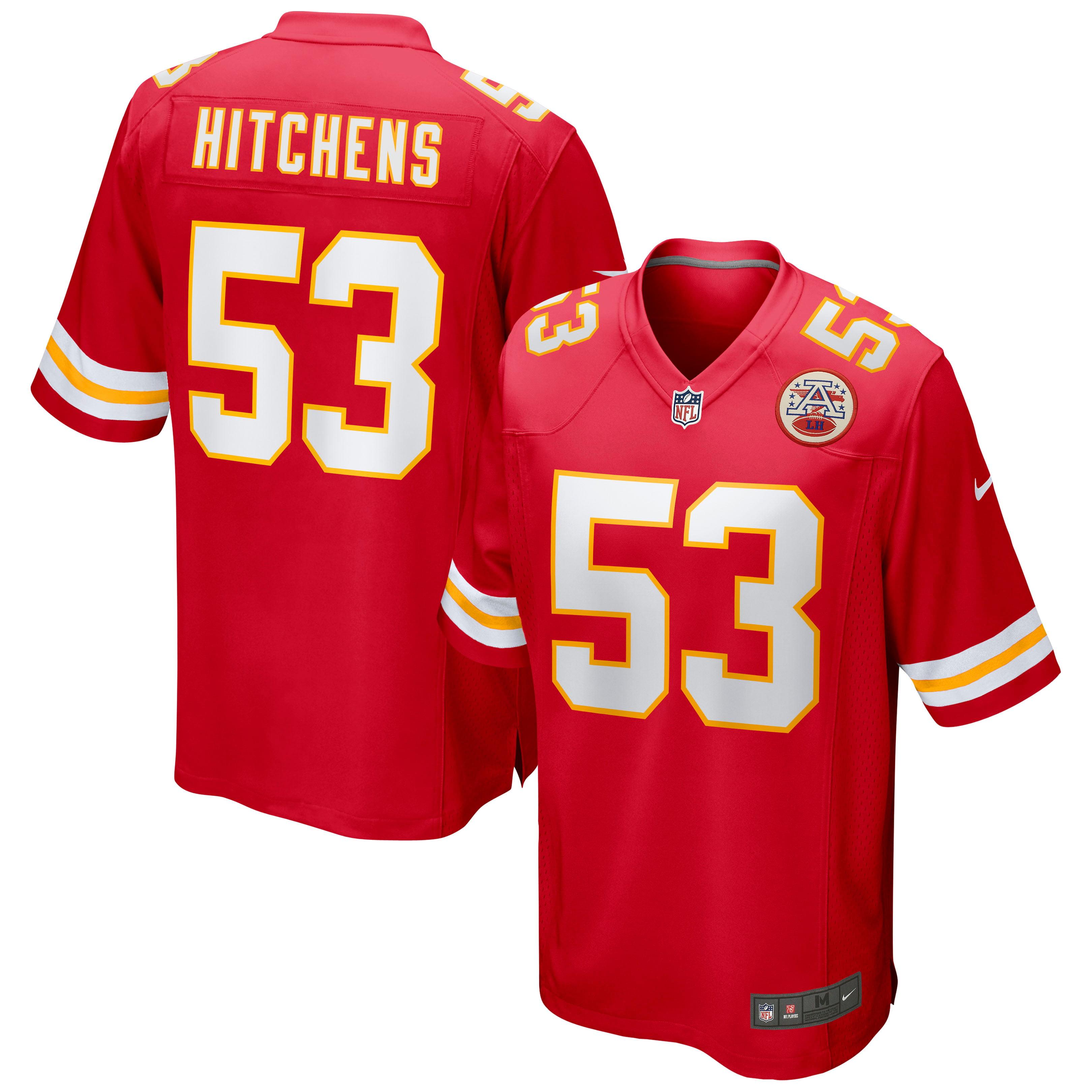 Anthony Hitchens Kansas City Chiefs Nike Game Jersey - Red - Walmart.com