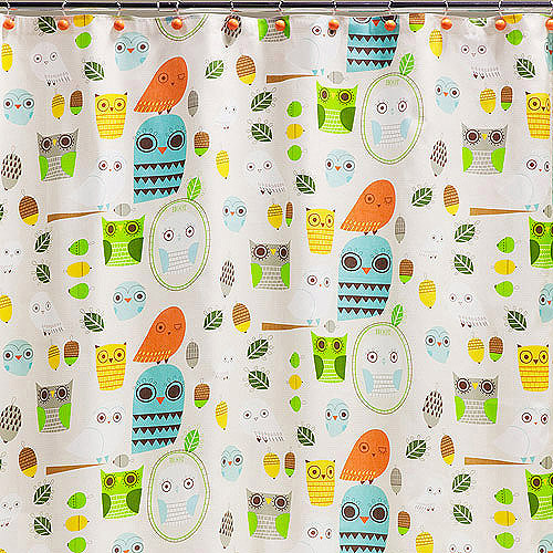 Creative Bath Give A Hoot Shower Curtain