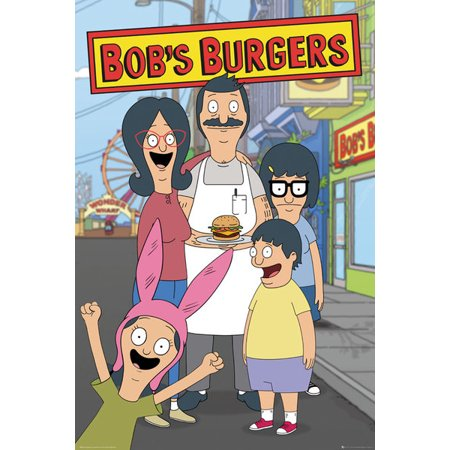 Family Poster Print (Bobs Burgers Family Poster Print (24 x 36) )