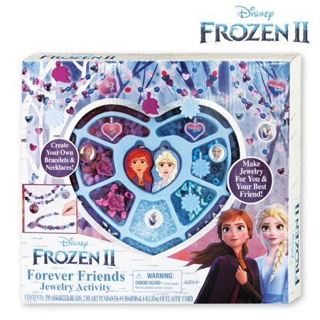 Frozen 2 Forever Friends Jewelry Making Kit - Crafty Gift Ideas for Kids