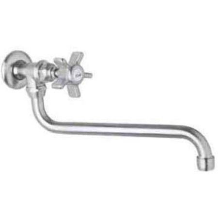 Rohl A1445 Country Kitchen Wall Mounted Pot Filler Faucet, Available in Various (Rohl Brass Polished Pot)