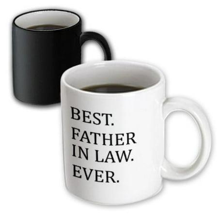 3dRose Best Big Sister Ever - Gifts for elder and older siblings - black text, Magic Transforming Mug,