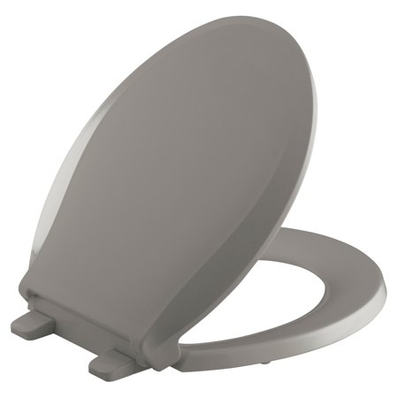 Kohler Cachet Quiet-Close with Grip-Tight Round-Front Toilet Seat