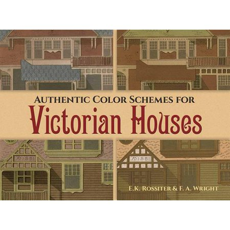 Authentic Color Schemes for Victorian Houses : Comstock's Modern House Painting, 1883 - Fall Wedding Color Schemes