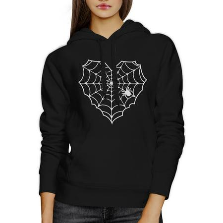 365 Printing Spider Web Halloween Horror Nights Sweater Hoodie Black Unisex Top - Halloween Horror Nights Web Page
