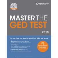 Master the GED Test 2019 (Paperback)