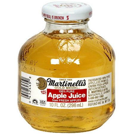 Martinelli's Gold Medal 100% Juice, Apple, 10 Fl Oz, 24 ...