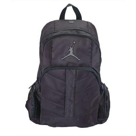 1049d28f03261f Jordan - Jordan Boys Black Red Mesh Overlay Backpack - Walmart.com