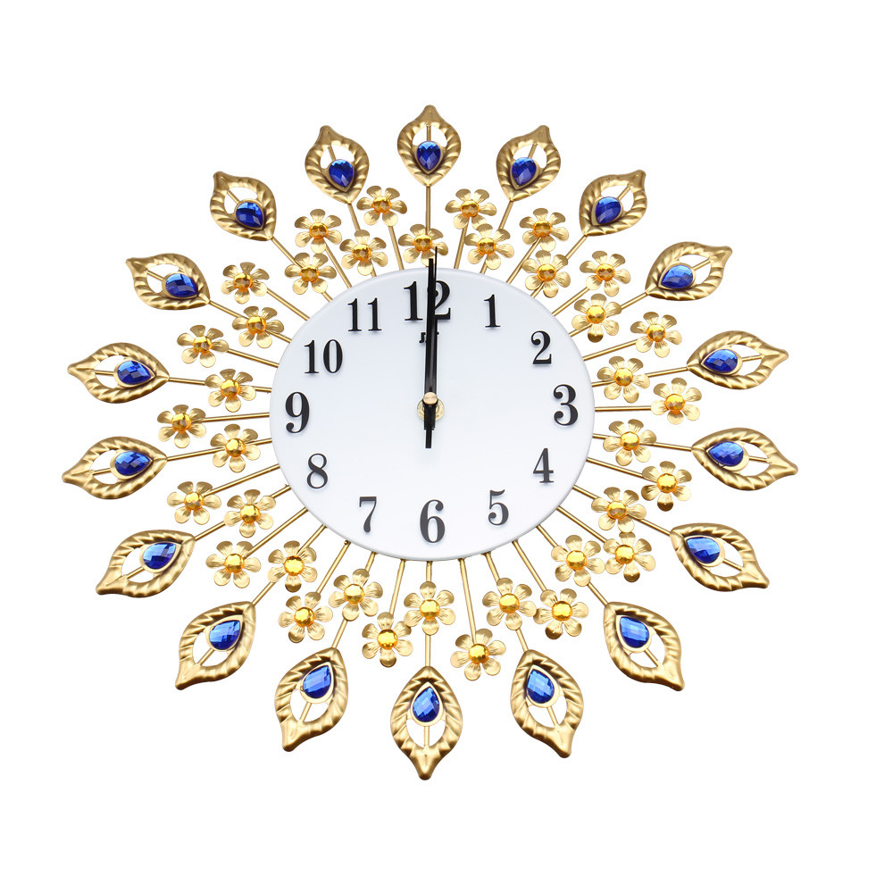 CARLTON Vintage Style Antique Wall Clock for Home Kitchen Office