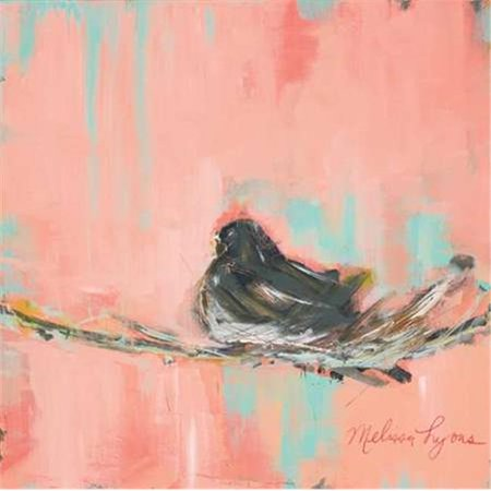 tangletown fine art the sparrow by melissa lyons poster frame 27 x