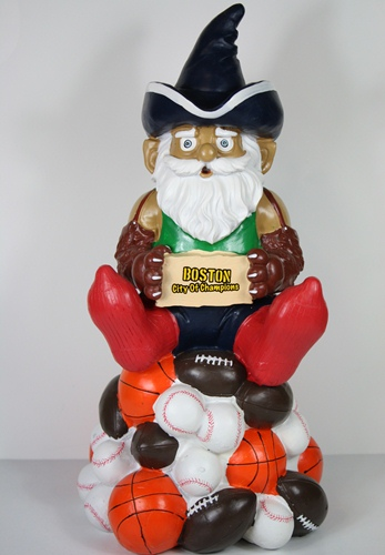 "Boston Thematic City 11.5"" Garden Gnome by Forever Collectibles"