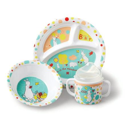Pat The Bunny: Melamine Feeding Set