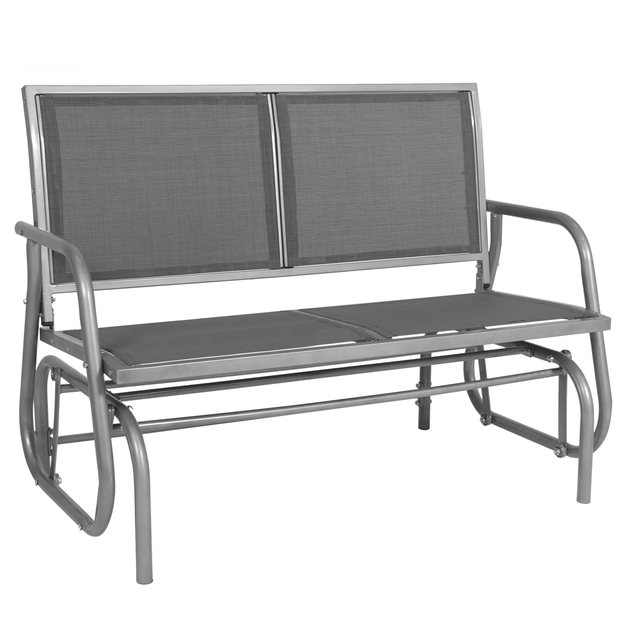 "Best Choice Products 48"" Outdoor Patio Swing Glider Bench Steel"