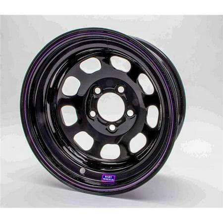 Bart Wheels 400150813-3 Reinforced Center Wheel - Black - 15 x 8 in. - 5 x 5.5 in. Bolt Circle - 3 in. Back Spacing - 26 lbs 15 X 8 Wheels