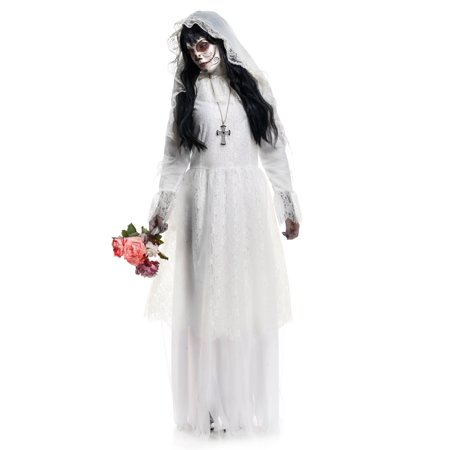 Womens Nightshade Bride Costume - image 2 de 2