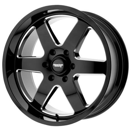 American Racing AR926 Patrol 20x9 8x170 +12mm Black/Milled Wheel Rim 20