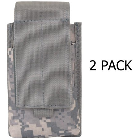Every Day Carry Tactical Adjustable MOLLE Double Rifle Magazine Pouch