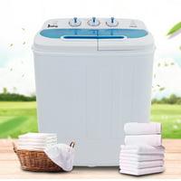 Deals on Ktaxon Electric Washing Machine,13.4Lbs Twin Tub Wash