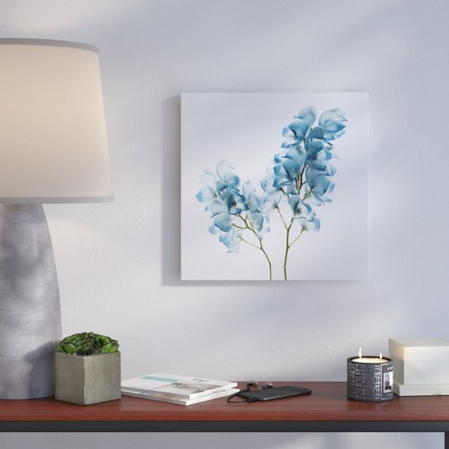 Ivy Bronx 'Gorgeous Blue II' Oil Painting Print on Wrapped Canvas