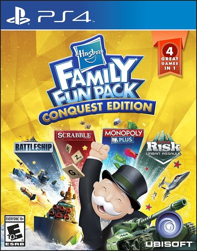 Hasbro Family Fun Pack: Conquest edition, Ubisoft, PlayStation 4, 887256024598 by Ubisoft