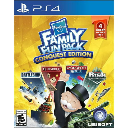 Hasbro Family Fun Pack: Conquest edition, Ubisoft, PlayStation 4, (Edition Pack)