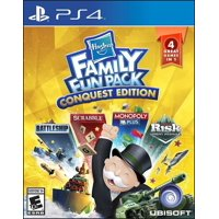 Hasbro Family Fun Pack: Conquest edition, Ubisoft, PlayStation 4, 887256024598
