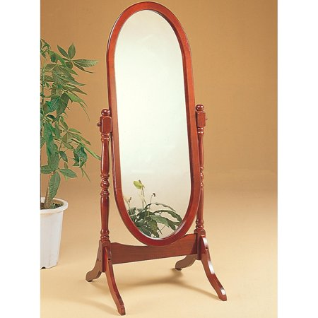 Coaster  Company Cherry Oval Cheval Freestanding Mirror