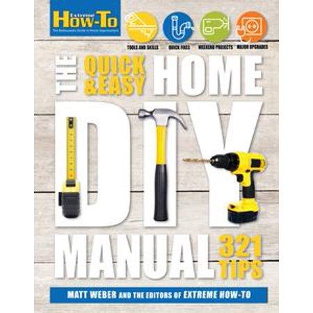 Quick & Easy Home DIY Manual - eBook - Quick And Easy Diy Halloween Costumes