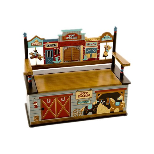 Wildkin Wildkin Kids Wild West Bench Seat with Storage