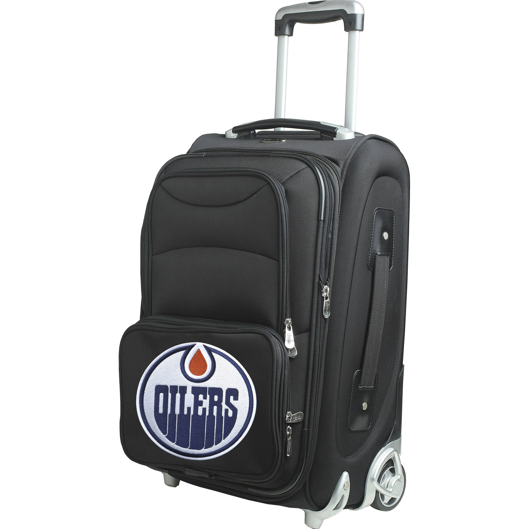 "Denco NHL 21"" Carry-On, Edmonton Oilers by Mojo Licensing"