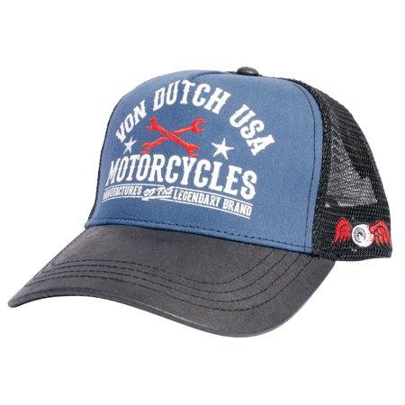 Von Dutch - Von Dutch Men s Women s Trucker Hat - One Size - Walmart.com 915f9069ecab