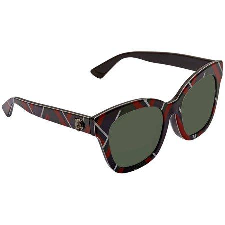 sunglasses gucci gg 0029 sa- 009 multicolor / green