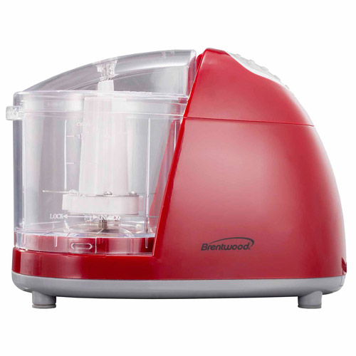 Brentwood Mini Food Chopper, Red
