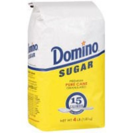Extra Fine Granulated Sugar (Sugar and Sugar Packets Extra Fine Granulated Sugar, 4 Pound -- 10 per)